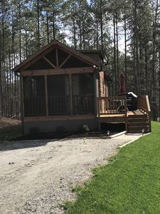 Photo for Cabins at the Gap | The Getaway Cabin | 1 Bedroom 1 Bath |loft|