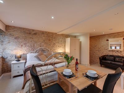 Photo for Stunning ground floor studio on a converted 18th century dairy farm with onsite spa