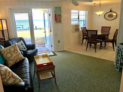 Photo for STUNNING open Bay views! Fish from our back yard! <1 block to top 3 beach in USA
