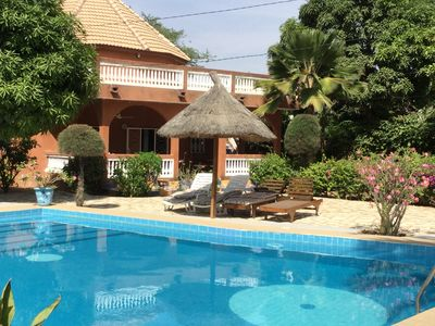 Photo for WARANG Very beautiful villa 6 persons with large pool and beach 300 m
