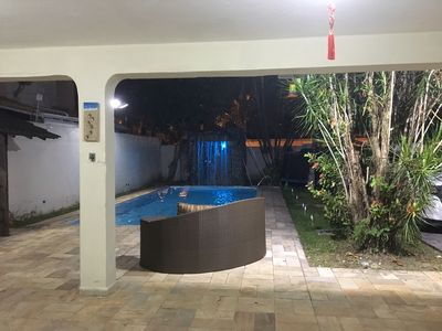Photo for Beautiful Townhouse with pool, waterfall and garden