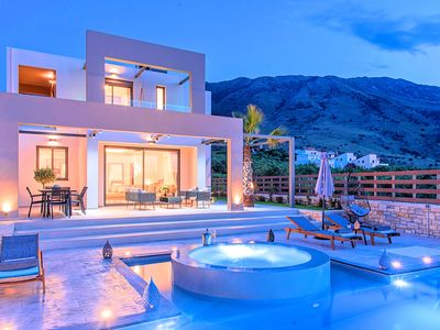 Photo for Minoas Grand Villas 3 Heated Pools 28 guests