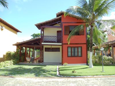 Photo for Furnished House in Gated Community on Taperapuan Beach