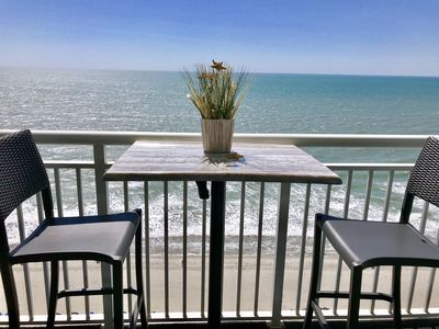 Photo for **ISLAND TIME Dolphin Shack; Gorgeous Direct Oceanfront Balcony King Luxury Bed*