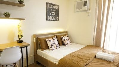 Photo for Relaxing Studio Unit with Balcony Makati