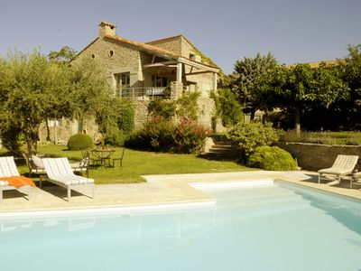 Photo for Luxury 4 bedroom villa in Languedoc with pool