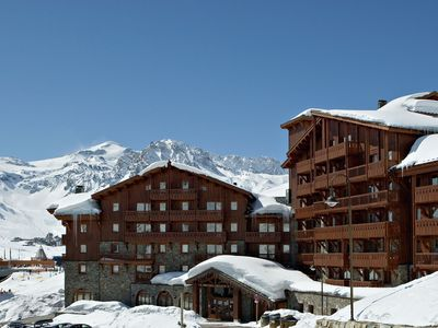 Photo for Luxurious and cozy apartments right at the ski slope in Tignes