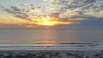 Another Beautiful Sunrise From the Balcony