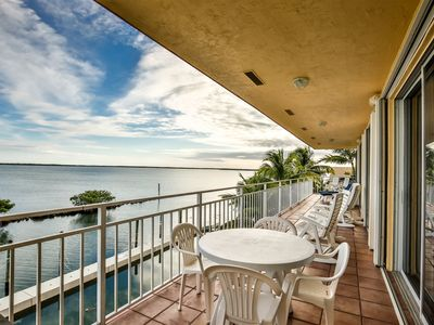 Photo for Channel Five Open water View Condo in Long Key