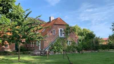 Photo for Holiday on the Gutshof- small cozy apartment near the Baltic Sea