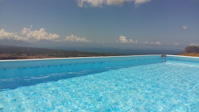 Photo for Comfortable And Calm Apartm. 130 Sq.m. With Pool & View On Gulf Of Castellammare
