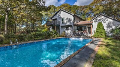 Photo for NEW LISTING: Gorgeous East Hampton Hideaway with Privacy and Full Amenity Suite