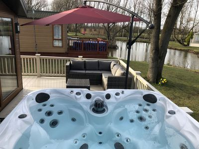 Photo for Beautiful Hot Tub Holiday Lodge - 9 Miles From York City Centre
