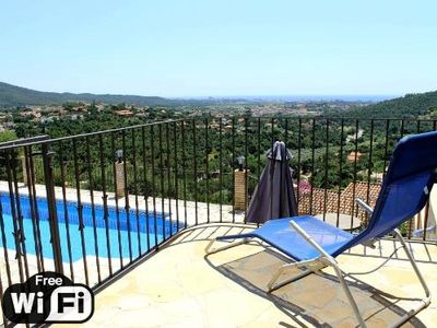 Photo for 3 bedroom Villa, sleeps 6 in Calonge with Pool, Air Con and WiFi