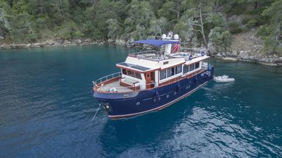 Photo for Unforgettable blue voyage experience with a trawler type boat in Gocek & Fethiye