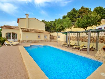 Photo for Estrelizia - pretty holiday property with garden and private pool in Calpe