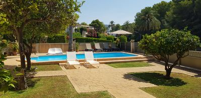 Photo for HOUSE WITH POOL 100 meters from the beach with A / A, in Costa Calma, CALVIA, MALLORCA