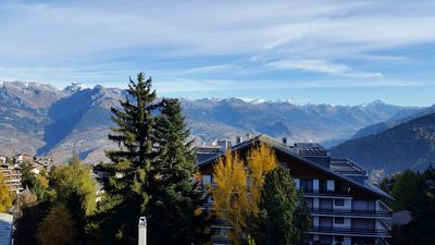 Photo for Swiss, Wallis, central setting, next to ski slopes, 400km slopes