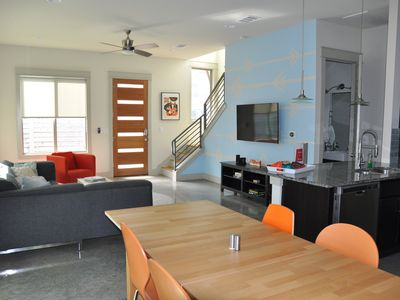 Photo for New Modern Home in East Austin - Walk Downtown/Rainey St!