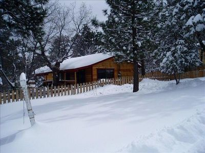 Snow Time at Zephyr Cabin