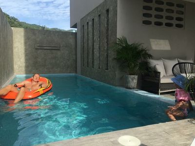Photo for Stunning 3 bedroom townhouse with private pool