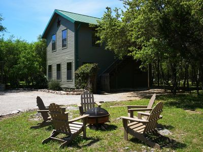 Photo for Rural Elegance - Enjoy the Hill Country with all the bells and whistles. Pool, FirePit and luxury linens!
