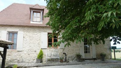 Photo for Renovated stone farmhouse in beautiful location.