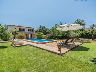 Photo for Villa with privte pool walking distance to Pollensa old Town