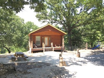 Photo for Beautiful Log Cabin with lake access, pond, and 4-wheeling trails