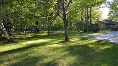 Photo for Stone Ridge on 4.2 Wooded Acres/Firepit, 4 Bedrooms, 2.5 Baths, Sleeps 14 & Pets