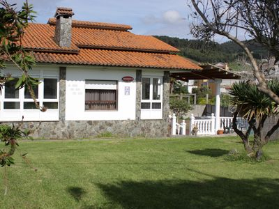 Photo for COZY VILLA WITH SWIMMING POOL, LARGE GARDEN WITH TRACK SKATE,