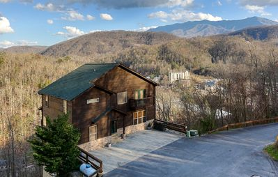 Photo for GREAT view behind the Gatlinburg Aquarium