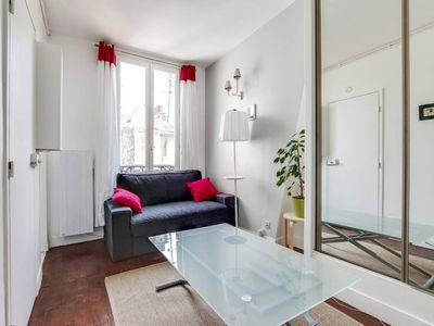 Photo for Quaint Apartment with Rooftop views of Montmarte