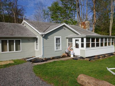 Photo for 3-Bedroom Cottage along Pine Creek!