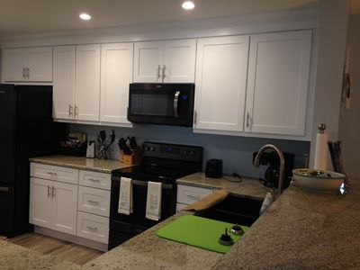 Photo for Newly Renovated 3 Bedroom Condo located with minutes of beaches and golfing