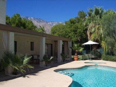 Photo for Privacy & Elegance in Central Palm Springs Cul De Sac - Private Pool and Yard