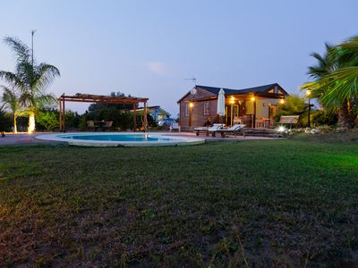 Photo for FINCA LOS SUEÑOS. BEAUTIFUL WOODEN HOUSE