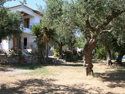 Photo for Holiday house amid olive groves, sea view, wifi   Messenia, Peloponnese