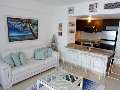 Photo for Juan Dolio Las Olas Beach Apart. 2 room 5 bed perfect for families