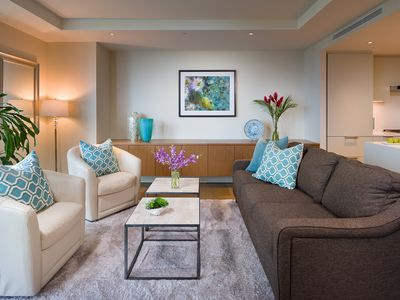 Photo for Stay in Luxury at this One Bedroom Condo at Park Lane, Ala Moana Shopping Ctr
