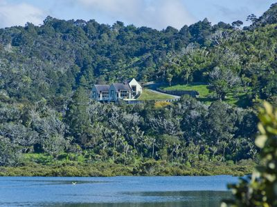 Photo for Waiwera Waterfront Private Retreat, House and Barn (15 acres)