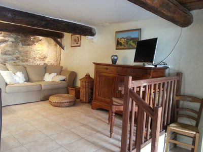 Photo for Lovely flat for 2 in Bormes les Mimosas