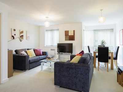 Photo for Gunwharf Quays .  One bedroom apartment, sleeps 4 guests with free parking space