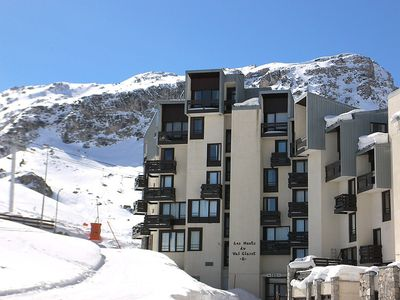 Photo for Apartment 508 m from the center of Tignes with Lift, Internet, Balcony (98669)