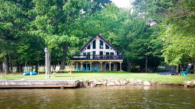 Photo for A perfect lakefront getaway! #1 Treasure Lake rental!