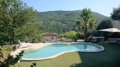 Photo for VILLA OF EVEN FOOT WITH SWIMMING POOL 10M PRIVATIVE IN PEACE.