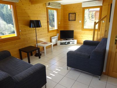 Photo for Chalet Gerardmer any comfort close lake and tracks of 4 to 8 people