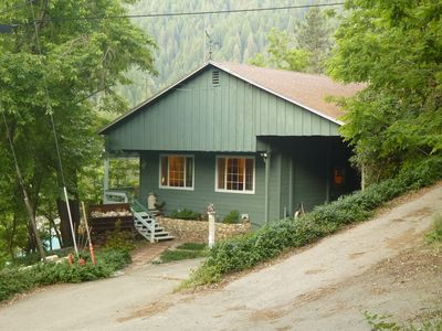 Bear Run cabin.