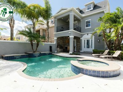 Photo for LC534T-4/4, Game Room, Pool, Free Waterpark, Golf View Near Disney