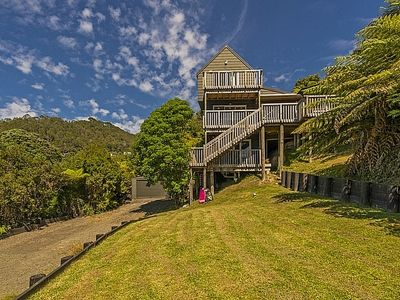 Photo for The Chalet at Hahei - Hahei Holiday Home